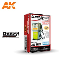 DOOZY DZ002 1/24 OLD GAS PUMP SINGLE HOSE / TYPE B