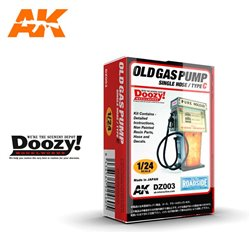DOOZY DZ003 1/24 OLD GAS PUMP SINGLE NOSE / TYPE C
