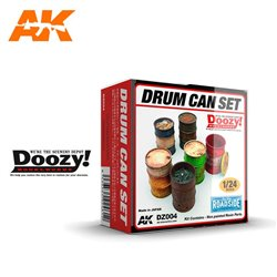 DOOZY DZ004 1/24 DRUM CAN SET