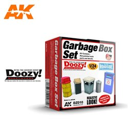 DOOZY DZ010 1/24 GARBAGE BOX SET