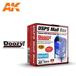 DOOZY DZ012 1/24 USPS MAIL BOX