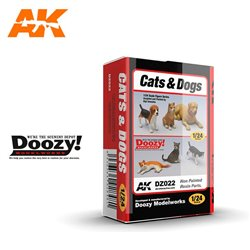 DOOZY DZ022 1/24 CATS & DOGS