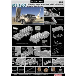 DRAGON 3605 1/35 M1120 Terminal High Altitude Area Defense Missile Launcher (THAAD)
