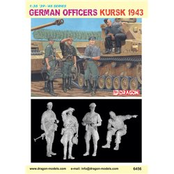 DRAGON 6456 1/35 German Officers Kursk 1943