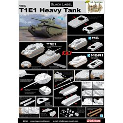 DRAGON 6936 1/35 Heavy Tank T1E1 / M6 / M6A1 3 in 1