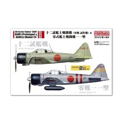 FINEMOLDS FP34 1/72 A6M1 (Prototype) & A6M2a (Model 11)