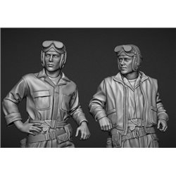 PANZER ART FI35-118 1/35 US tankers coverall set