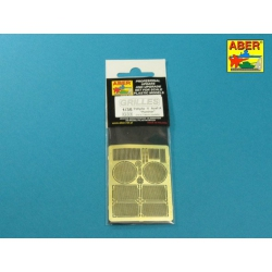 ABER G35 1/48 Grilles for Panther, Ausf. G & Jagdpanther Ausf.G2 Late models (Takom) for Takom model