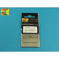 ABER G34 1/48 Grilles for Jagdpanther Ausf.G1 early (Meng) for Meng model