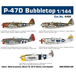 EDUARD 4464 1/144 P-47D Bubbletop