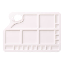 LIQUITEX Palette plastique rectangle large
