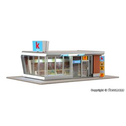 KIBRI 39008 1/87 Modern kiosk incl. LED lighting