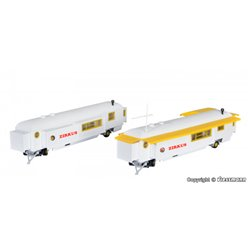 KIBRI 15704 1/87 Funfair trailer, 2 pieces