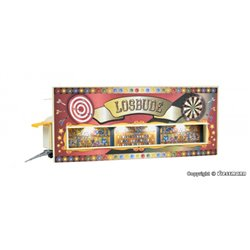 KIBRI 11012 1/87 Funfair trailer with LED lighting, functional kit