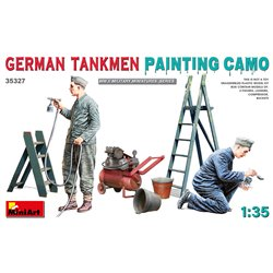 MINIART 35327 1/35 German Tankmen. Painting Camo