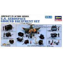 HASEGAWA 35006 1/72 U.S. Aerospace Ground Equipment Set