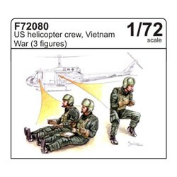 CMK F72080 1/72 US U.S. helicopter crew, Vietnam War (3 fig.)