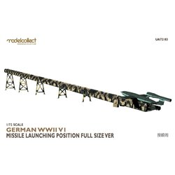 MODELCOLLECT UA72183 1/72 German WWII V1 Missile launching position full size Ver.
