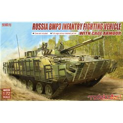 MODELCOLLECT UA72179 1/72 BMP3 INFANTRY FIGHTING VEHICLE WITH CAGE ARMOUR