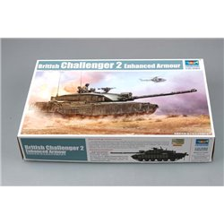 TRUMPETER 01522 1/35 British Challenger2 with Anti-Heat Fence
