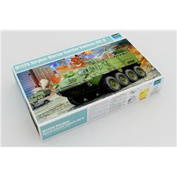 TRUMPETER 01512 1/35 M1129 Stryker Mortar Carrier w. 120mm