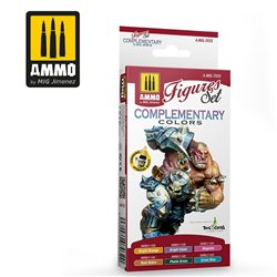 AMMO BY MIG A.MIG-7032 COMPLEMENTARY COLORS. FIGURE SET