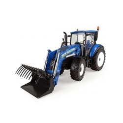 UNIVERSAL HOBBIES 4958 1/32 New Holland T5.120 with frontloader