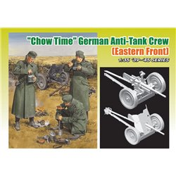 DRAGON 6697 1/35 Chow Time - German Anti-Tank Gun Crew w/3.7cm PaK 35/36
