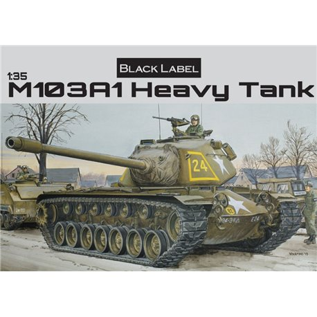 DRAGON 3548 1/35 M103A1 Heavy Tank