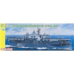 DRAGON 1024 1/350 USS Independence CVL-22