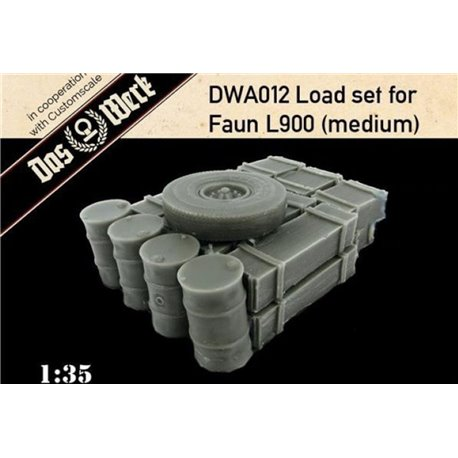 DAS WERK DWA012 1/35 Load set for Faun L900 (medium)