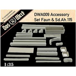 DAS WERK DWA009 1/35 Accessory Set for Faun & Sd.Ah.115