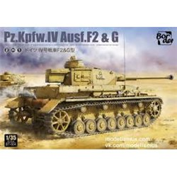 BORDER MODEL BT-004 1/35 Pz.Kpfw.IV Ausf. F2 & G