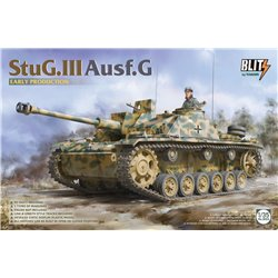 TAKOM 8004 1/35 StuG.III Ausf.G early production