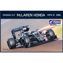 EBBRO 20018 1/20 McLaren Honda MP4-31 Spanish GP 2016