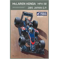 EBBRO 20015 1/20 McLaren Honda MP4-30 Japan GP