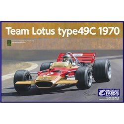 EBBRO 20006 1/20 Team Lotus Type 49C 1970