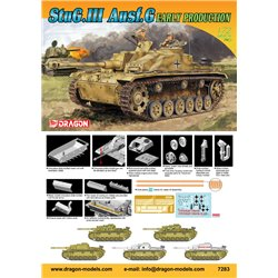 DRAGON 7283 1/72 StuG. III Ausf. G Early Production