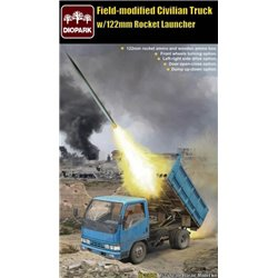 DIOPARK 35016 1/35 Field-modified Civilian Truck w/122mm Rocket Launcher
