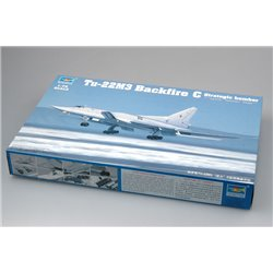 TRUMPETER 01656 1/72 Tu-22M3 Backfire C Strategic bomber