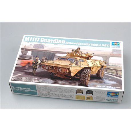 TRUMPETER 01541 M1117 Guardian Armored Security Vehicle (ASV)