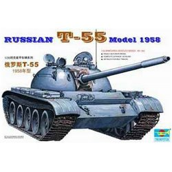 TRUMPETER 00342 1/35 Russian T-55 Model 1958