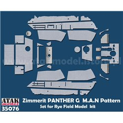 ATAK Model 35076 1/35 Zimmerit Panther G (RFM) M.A.N Pattern