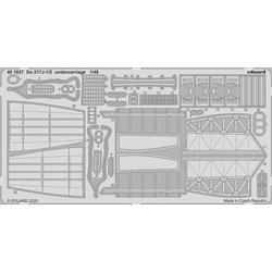 EDUARD 481027 1/48 Do 217J-1/2 undercarriage