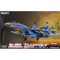 "GREAT WALL HOBBY L7207 1/72 Su-35S ""Flanker-E"" Multirole Fighter"