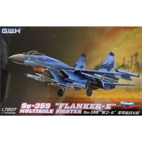 """GREAT WALL HOBBY L7207 1/72 Su-35S """"Flanker-E"""" Multirole Fighter"""