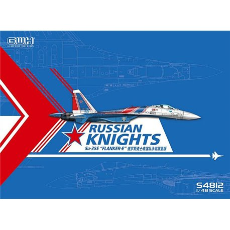 GREAT WALL HOBBY S4812 1/48 Su-35S Russian Knights Flanker-E