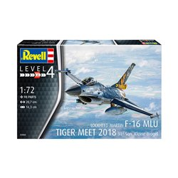REVELL 03860 1/72 F-16 Mlu 31 Sqn. Kleine Brogel Belgian Air Force