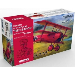 "MENG QS-002s 1/32 Fokker Dr.I Triplane ""Red Baron""(incl.one QS-002kit and one 1/10 resin bust) Limited Edition"