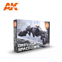 AK INTERACTIVE AK11614 GREY FOR SPACESHIPS